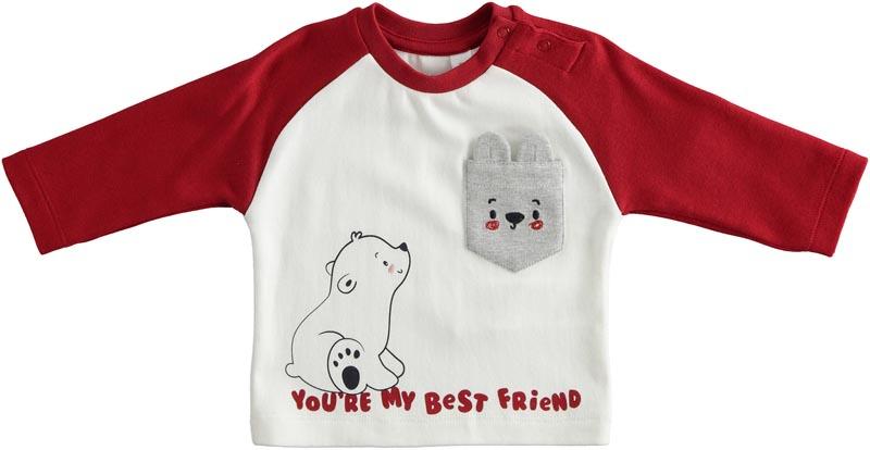 Бебешка памучна блуза iDO 41188