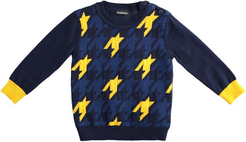 Детски плетен пуловер Sarabanda 01102