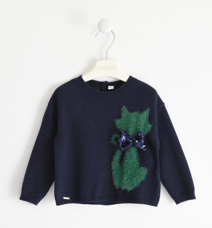 Детски плетен пуловер Sarabanda 012491