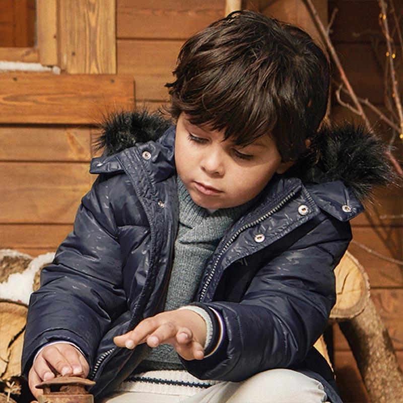 Зимно детско яке с щампа за момче Mayoral 4476