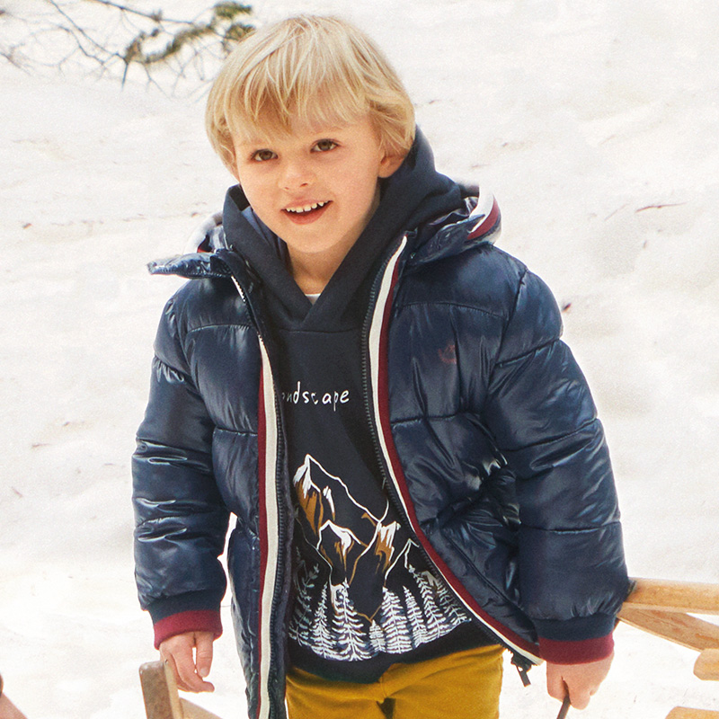 Детска зимна шуба за момче Mayoral 4478