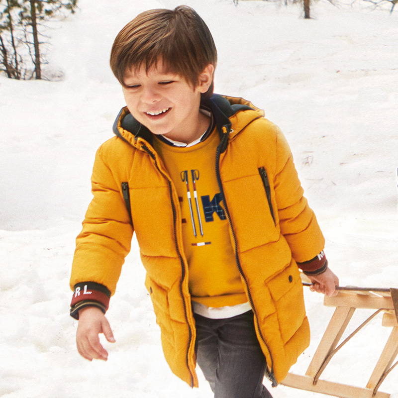 Дълго зимно яке за момче Mayoral 4479