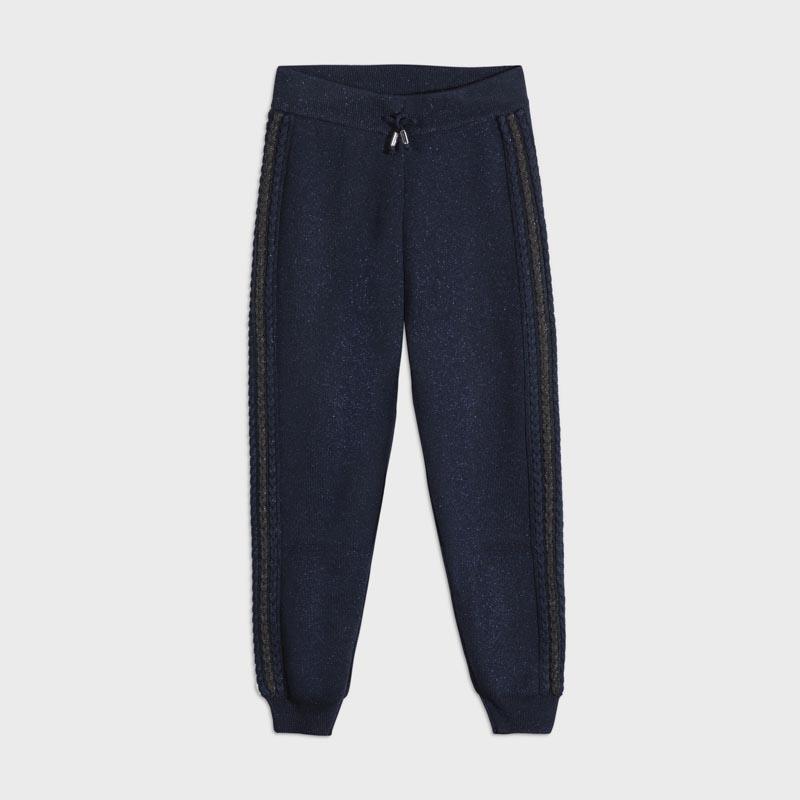 Детски трикотажен панталон с интересни елементи Mayoral 7541