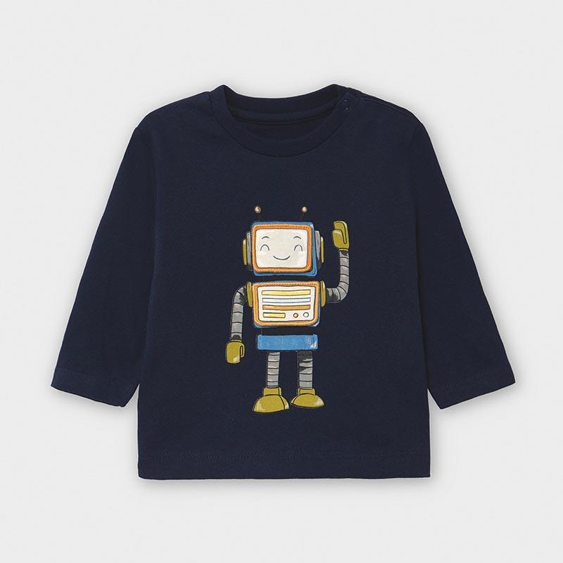 Интересна блузка с робот Mayoral 2040