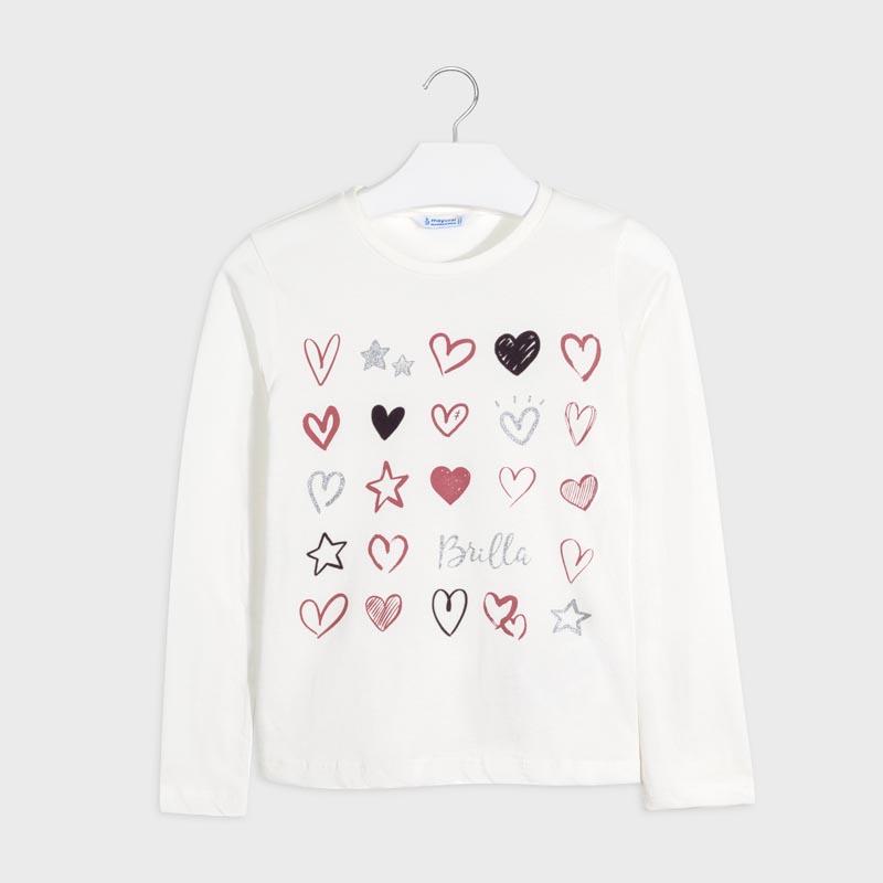 Детска красива блуза с щампа Mayoral 7073