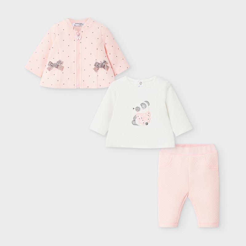 Бебешки комплект от 3 части за момиче Mayoral 2629