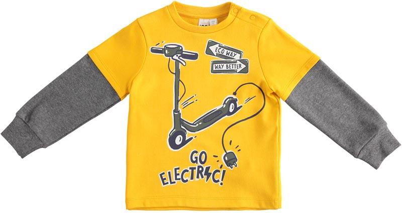 Бебешка двуцветна блуза iDO 41424