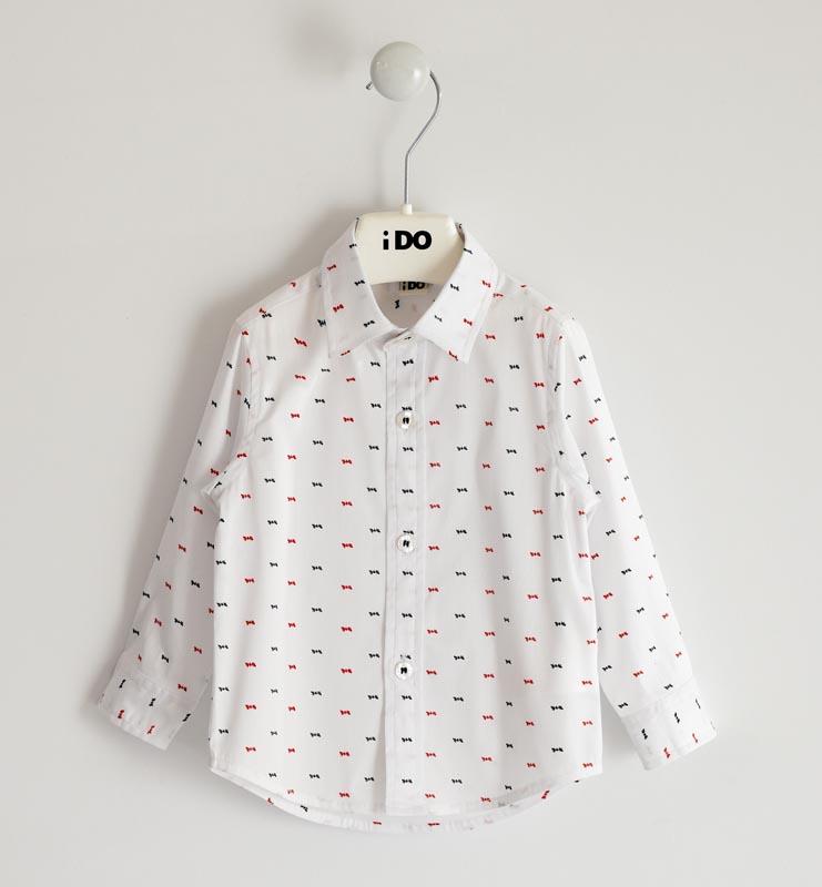 Детска стилна риза с мотиви iDO 41405