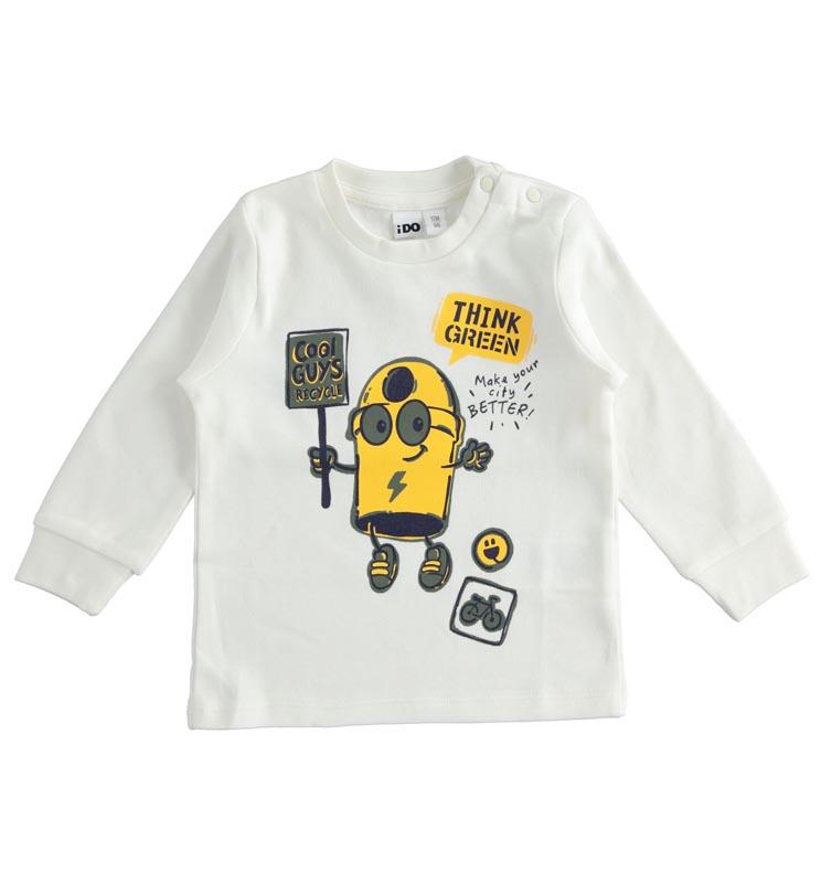 Блуза със забавна щампа IDO 41422