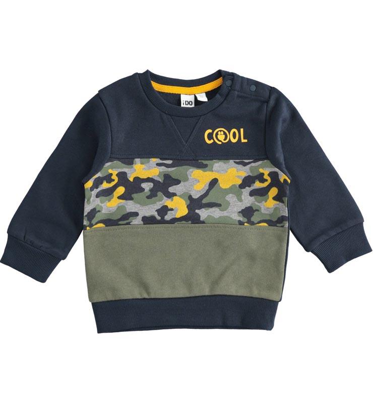Детска блуза с камуфлажни мотиви IDO 41425