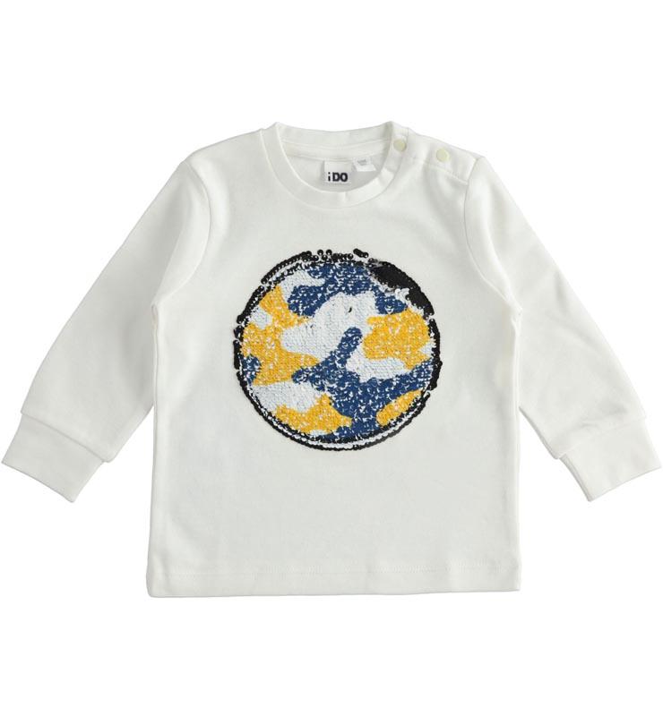 Детска блуза с интересен дизайн IDO 414201
