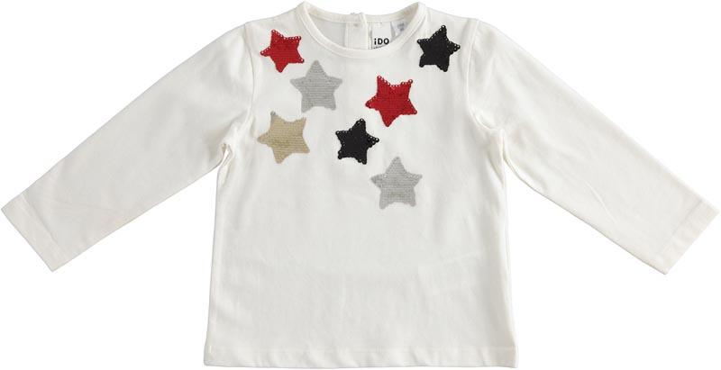 Детска красива блуза със звезди iDO 41699