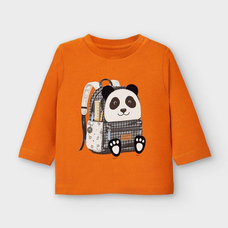 Бебешка памучна блуза Mayoral 2042
