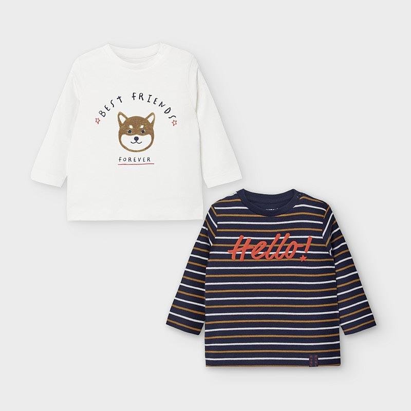 Комплект бебешки блузи Mayoral 2048