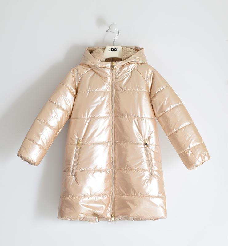 Детско красиво зимно яке с качулка iDO 41986
