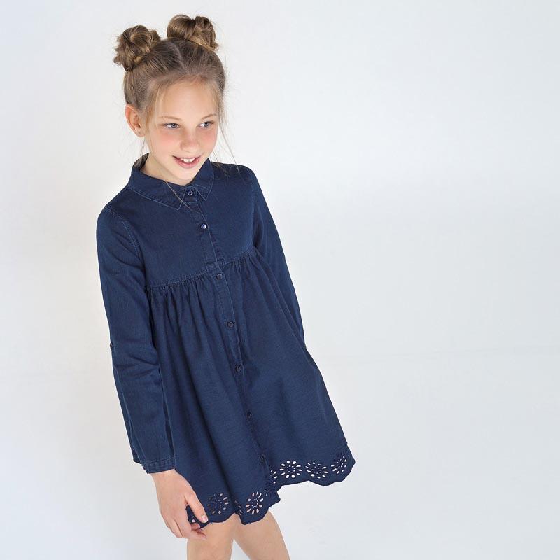 Детска дънкова рокля Mayoral 7964