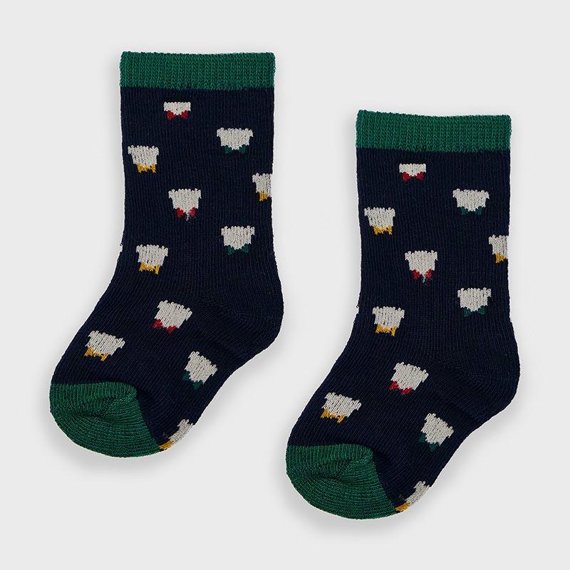 Бебешки чорапи с щампи за момче Mayoral 9304