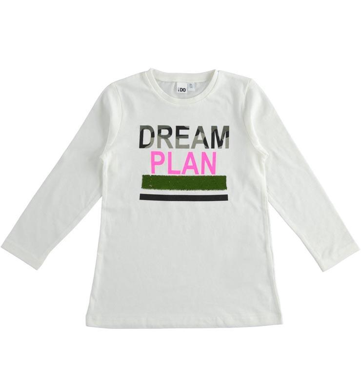 Детска блуза с пайети Ido 41923