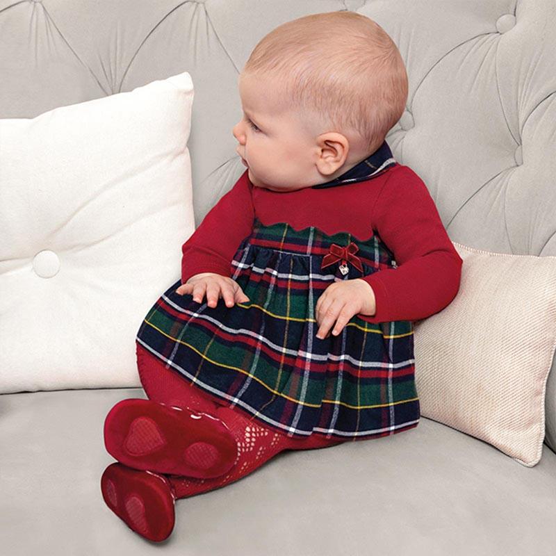 Бебешка красива рокля каре Mayoral 2873