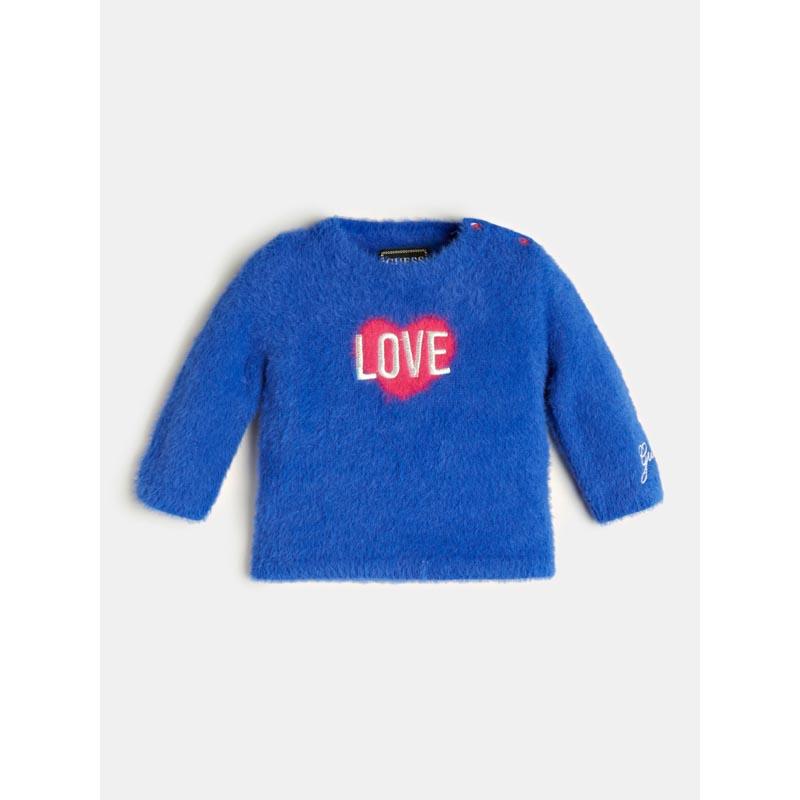 Детски пуловер с косъм Guess K0BR01Z2PW0