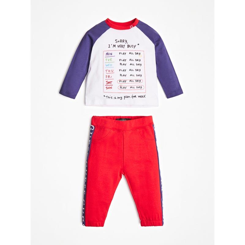 Бебешки спортен комплект Guess I0YG06K5M20
