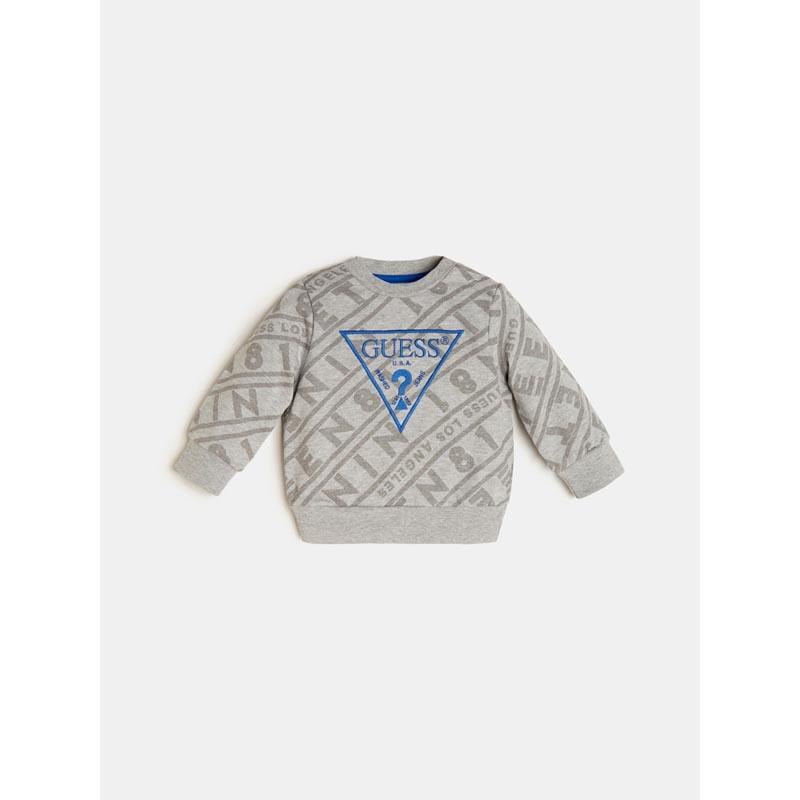 Детска спортна блуза с бродерия Guess N0YQ00K82T0