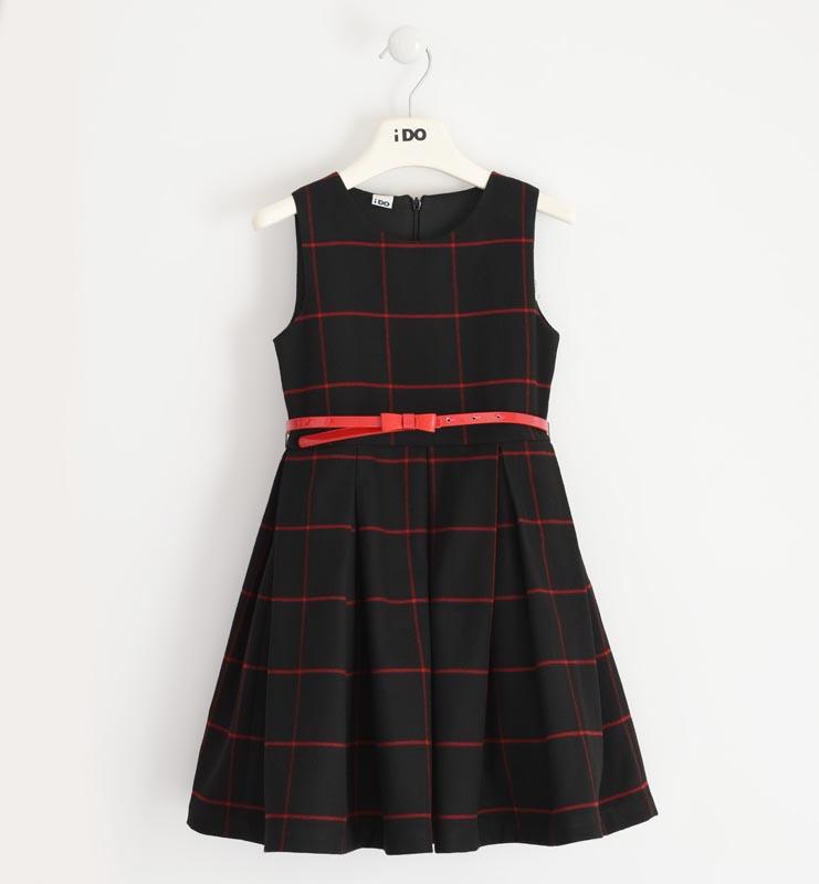 Елегантна рокля с колан за момиче IDO 41978