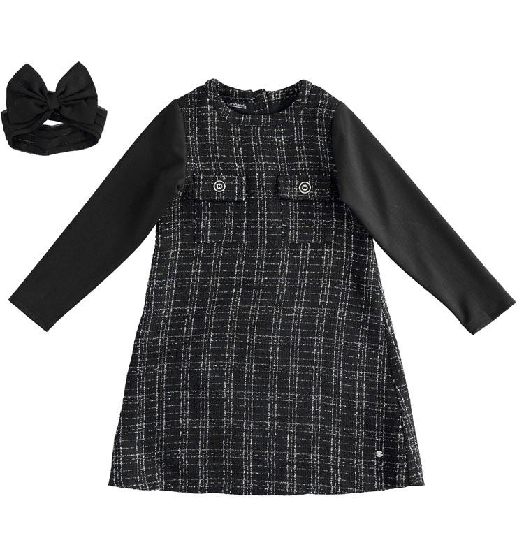Елегантна детска рокля в комбинация с лента за глава Sarabanda 01459