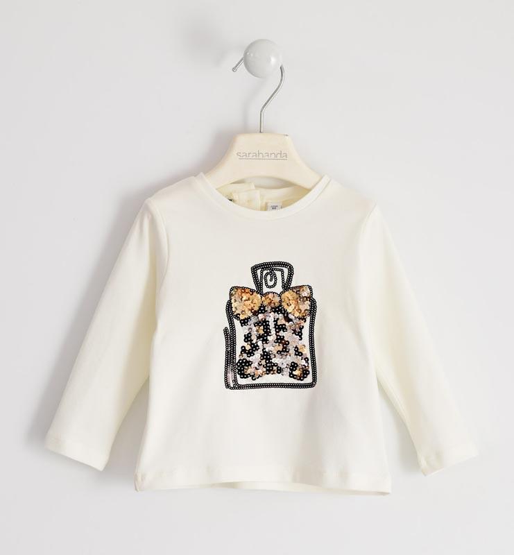 Бебешка блуза с пайети Sarabanda 01214