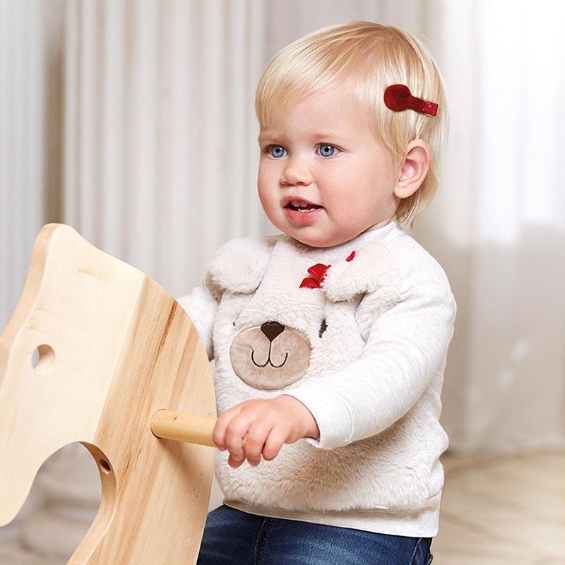 Бебешки пухкав пуловер Mayoral 2402