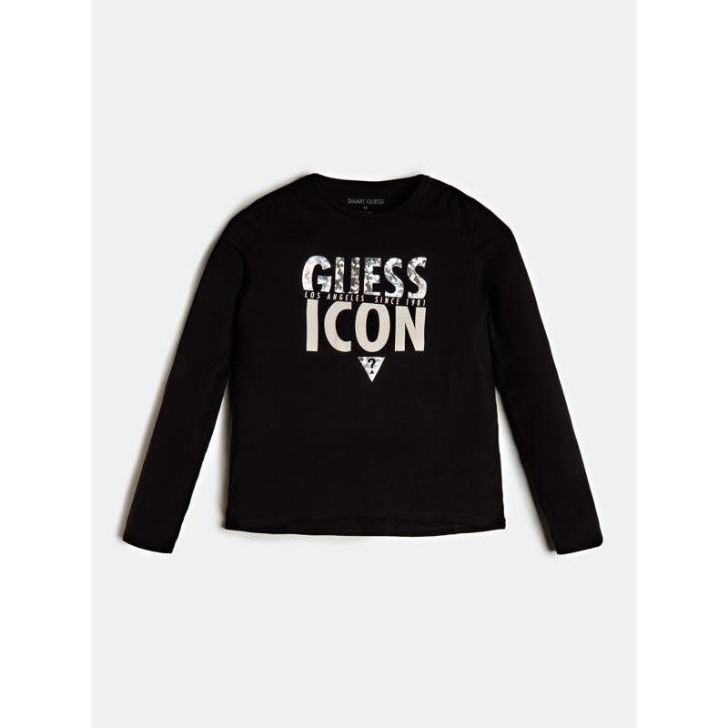 Детска блуза с щампа Guess J0BI23J1311