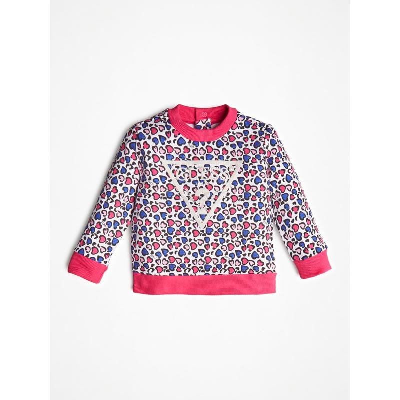 Детска цветна блуза Guess K0BQ00K9W00