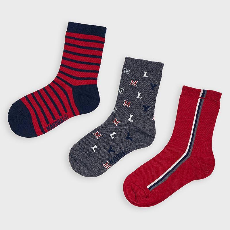 Комплект от 3 чифта чорапки за момче Mayoral 10873