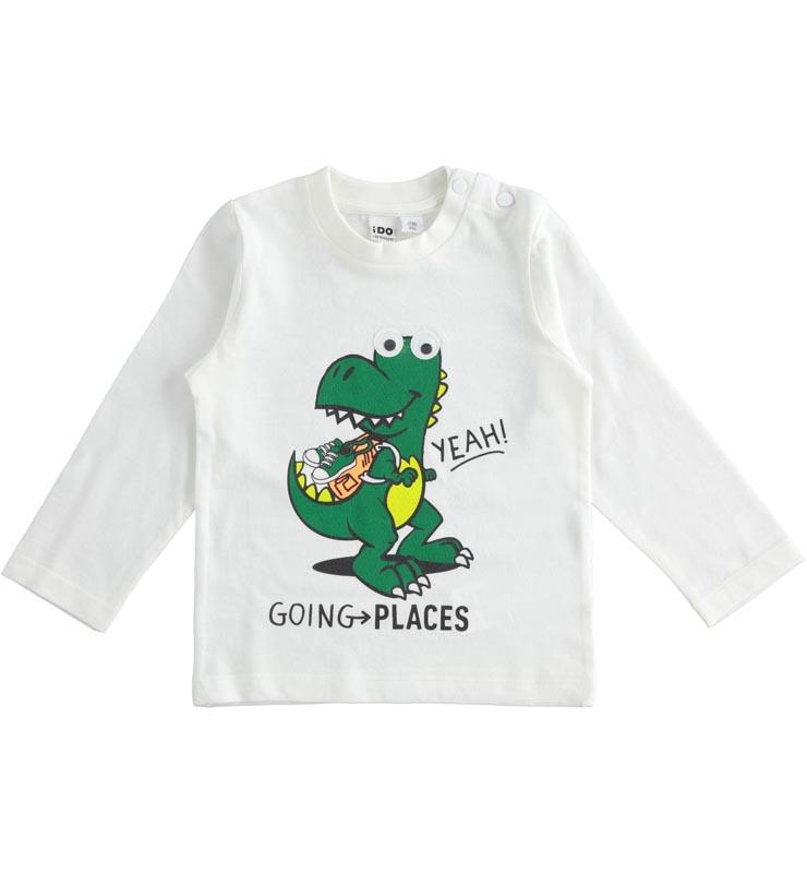 Детска памучна блуза с щампа iDO 41413
