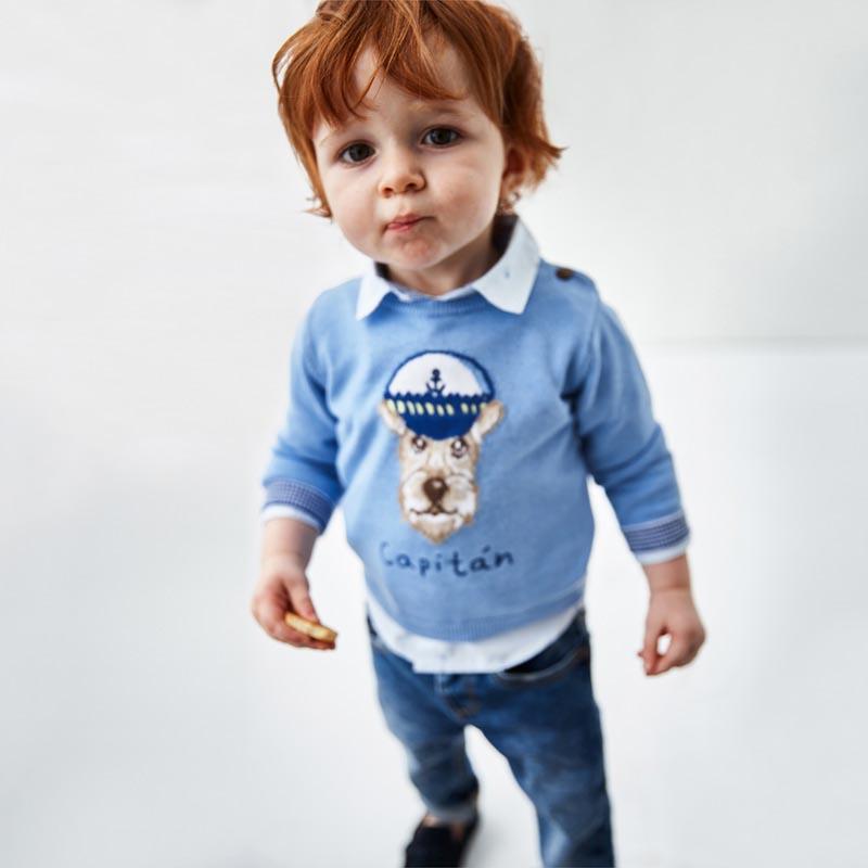 Бебешки спортни дънки Mayoral 503