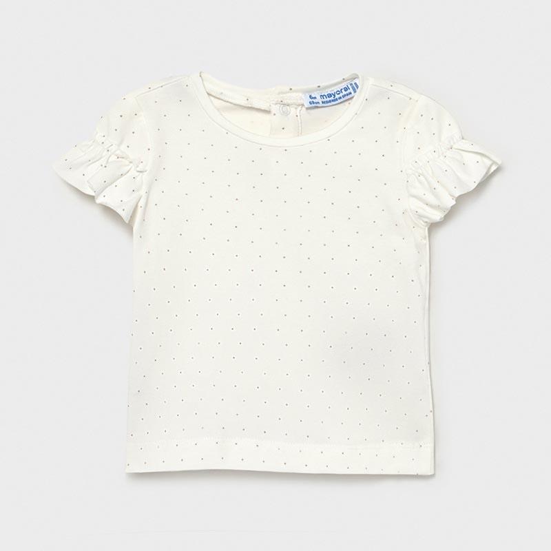 Бебешка блуза с волани и дизайн на точки Mayoral 1082