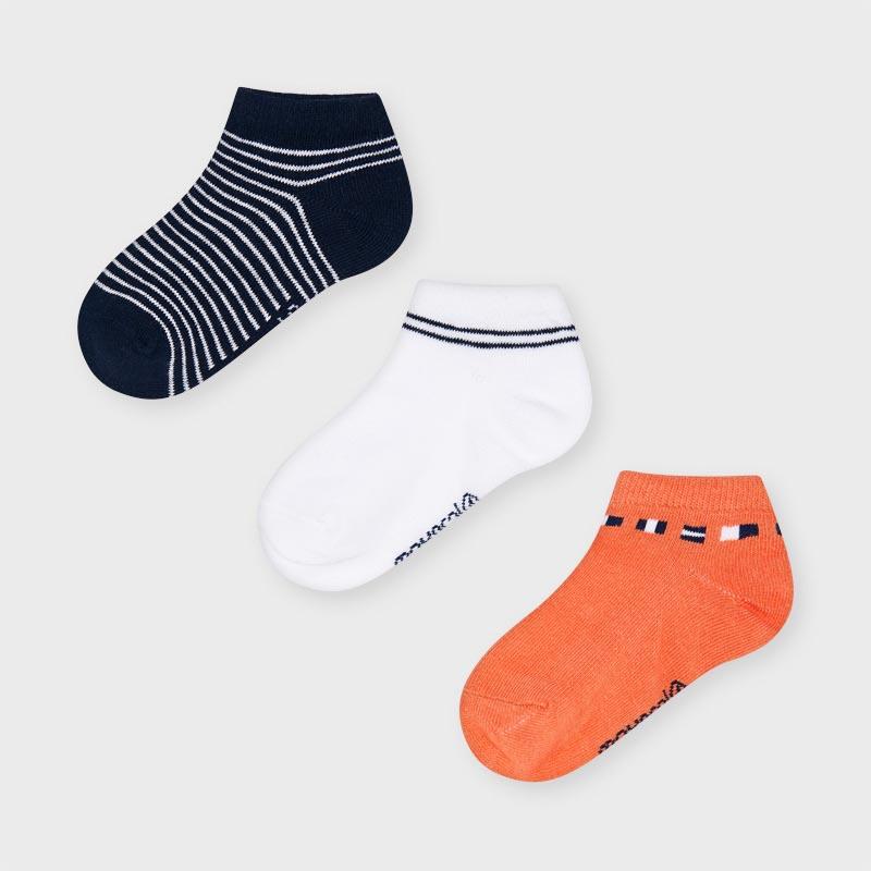 Комплект от 3 чифта къси чорапи Mayoral 10052