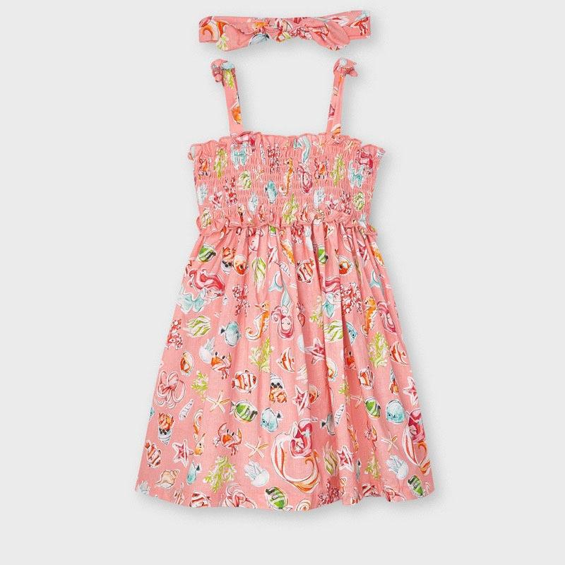 Детска рокля на морски мотиви Mayoral 3954