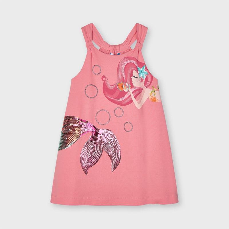 Детска рокля от трико Mayoral 3955