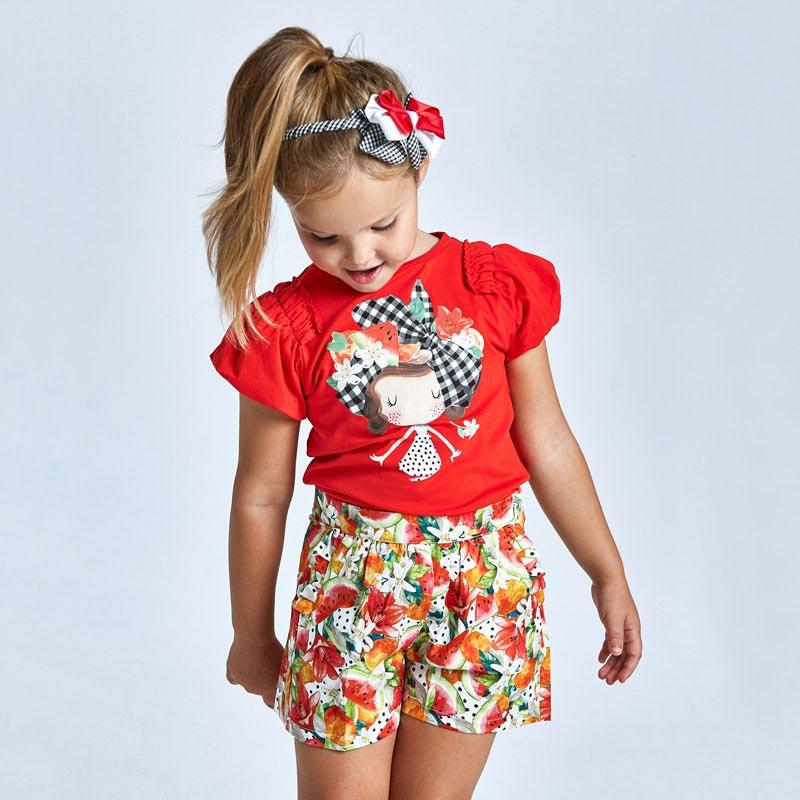 Детска шарена пола - панталон Mayoral 3908