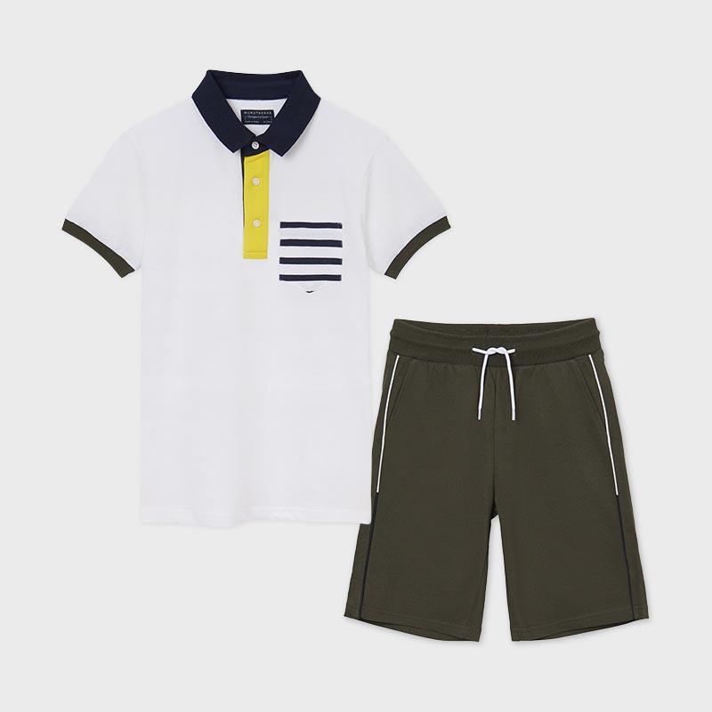 Комплект от 2 части включващ поло тениска Mayoral 6631