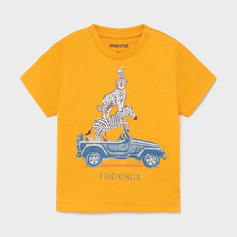 Бебешка памучна тениска Mayoral 1002