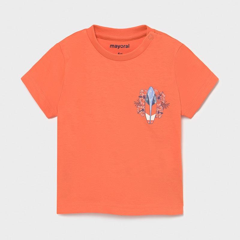 Бебешка памучна блуза Mayoral 1012