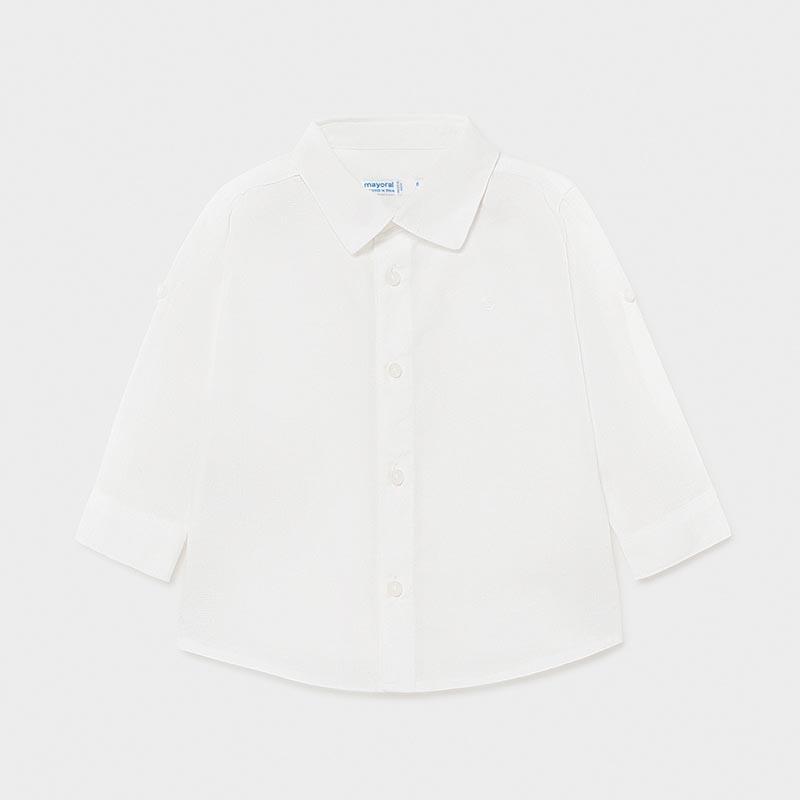 Бебешка ленена риза Mayoral 117