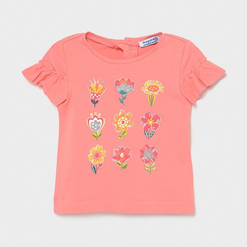 Бебешка блуза с волани за момиче Mayoral 1082