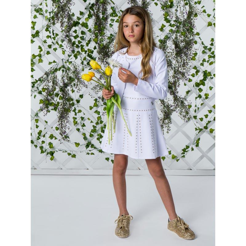 Елегантна детска рокля с капси Guess J1RK28KAE30