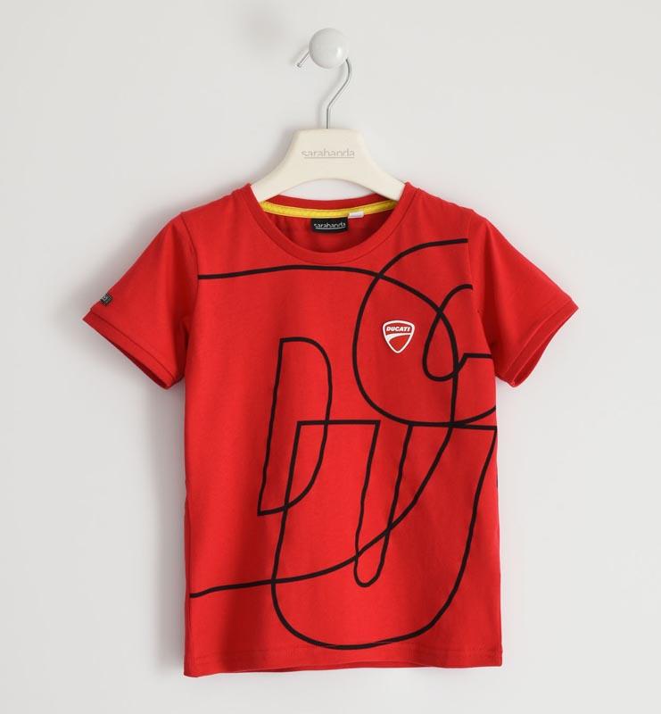 Свежа тениска с надпис Sarabanda от серията на DUCATI 02390