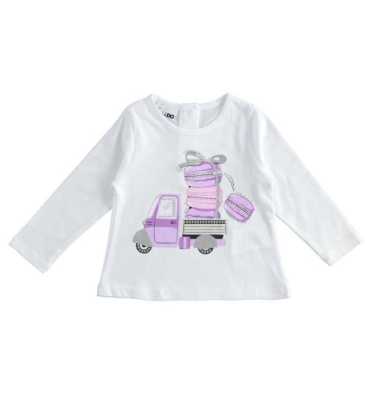 Блуза с декоративни елементи за момиче IDO 42278