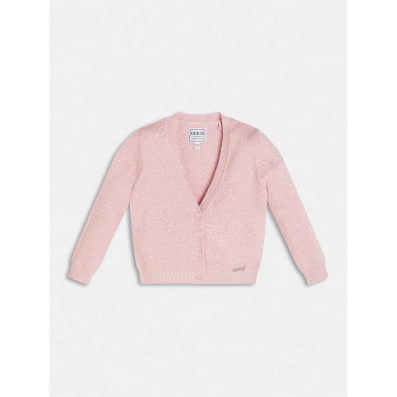 Бебешка тънко плетена жилетка Guess K1RR01Z2S50