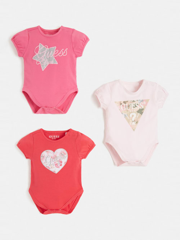 Комплект бебешки бодита Guess S1RG05J1311